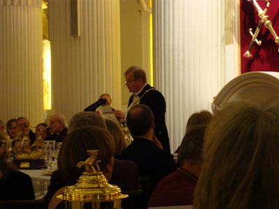 Lord Mayor's Dinner at the Mansion House