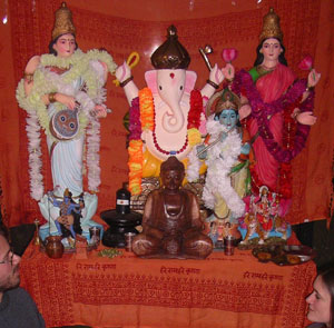 New Hindu Shrine at the University of East Anglia