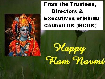 Ram Navami Greetings from HCUK