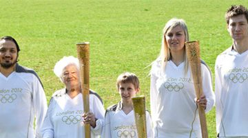 Olympic Torch Relay – coming to a street near you