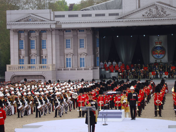 The Queens Diamond Jubilee Pageant by her Tripartite Forces of MOD