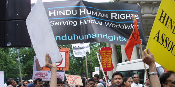 Hindu Human Rights (HHR) Press Release: Marathon Hindu Solidarity Protests