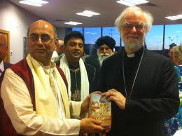 Message from the Archbishop of Canterbury for Diwali‏