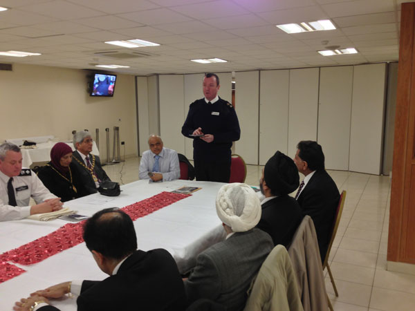 Chaplain of the Fleet Reception by Hindu Council UK