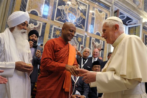 Hindu Council UK Statement on the retirement of Pope Benedict XV1