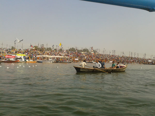 Kumbh Mela at Prayag Allahabad 2013