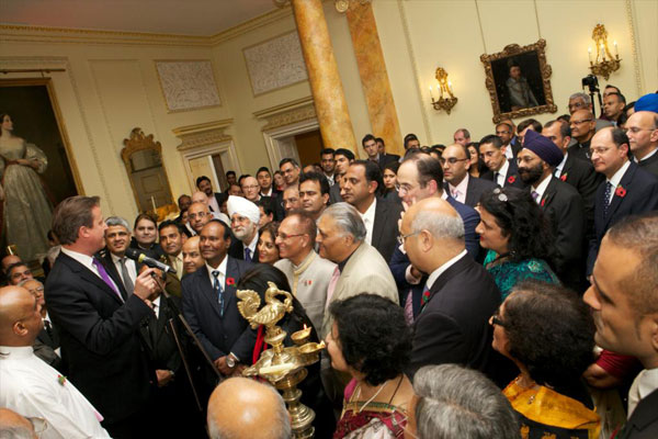 Diwali 2013 Reception at No. 10 Downing Street by the Prime Minister