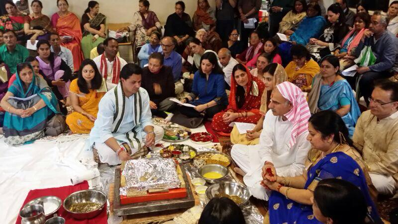 Kashmiri Pandit community recreate the magic of Kheer Bhawani Puja in London