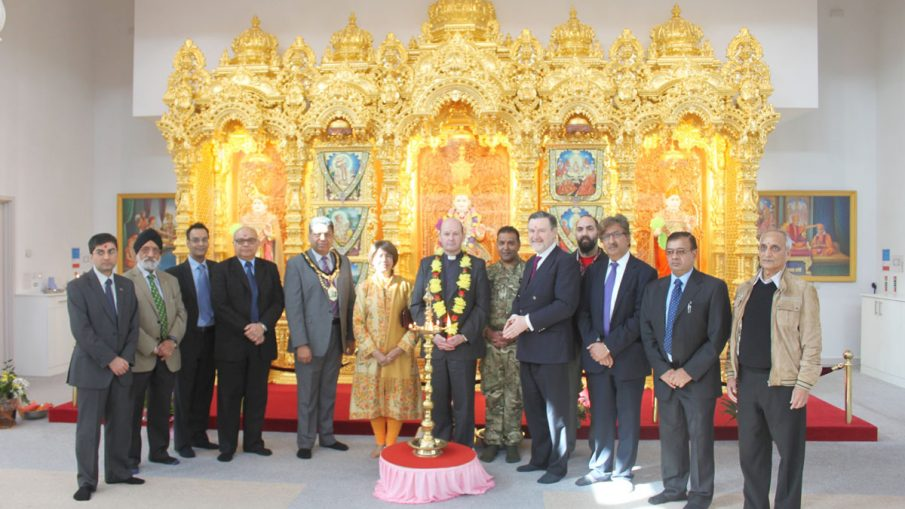 Strengthening bonds between the Hindu faith communities and the British Military