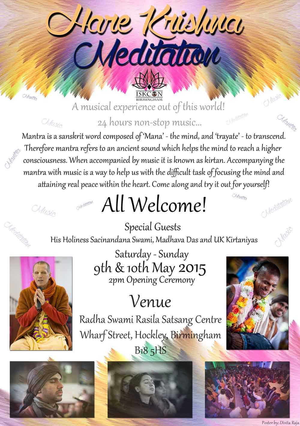 A Superb Spiritually enlightening event not to be missed