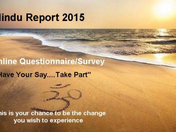Take part in the first ever Hindu Report UK (2015) Questionnaire/Survey.