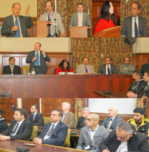 Ensure rule of law, democracy, elimination of terrorism, and equal treatment of all ethnic, linguistic and religious groups of Kashmir and Gilgit-Baltistan to promote peace