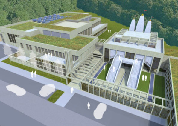 Plans for a £10m Hindu temple in Northampton approved