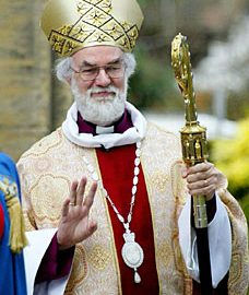A Hindu Tribute to Dr Rowan Williams at the Archbishop from 2003 to 2012