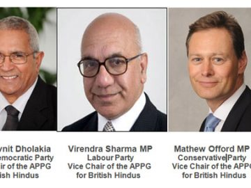 All Party Parliamentary Group For British Hindus (APPG for British Hindus)