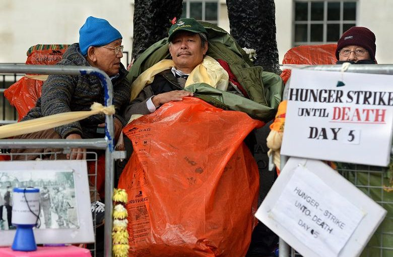 Gurkha Hunger Strike Rally 19th Nov. 11am opposite Parliament Westminster
