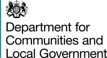 Department for Communities & Local Government (DCLG) October Bulletin